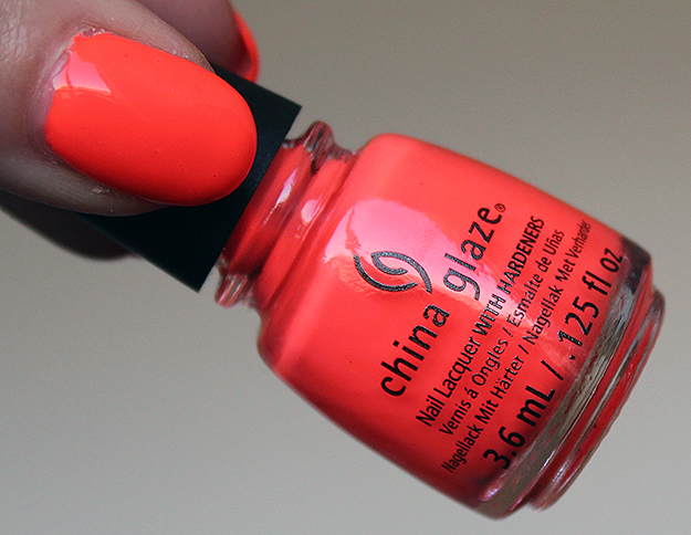 China Glaze Electric Nights Collection Red-y to Rave