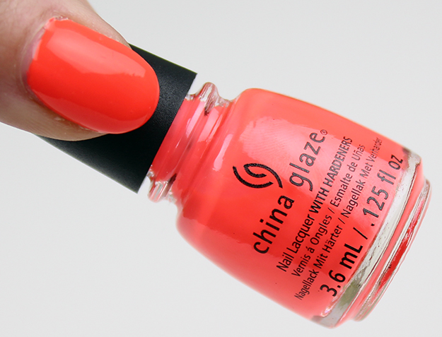 China Glaze Electric Nights Red-y to Rave