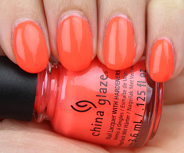 China Glaze Red-y to Rave Swatch