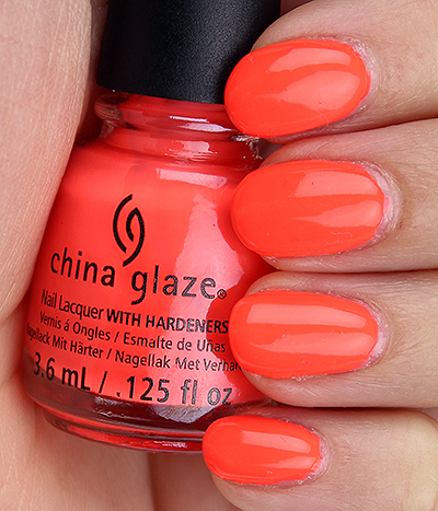 China Glaze Red-y to Rave Swatches & Review