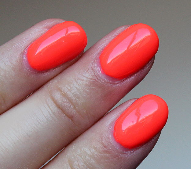 China Glaze Red-y to Rave Swatches Swatch