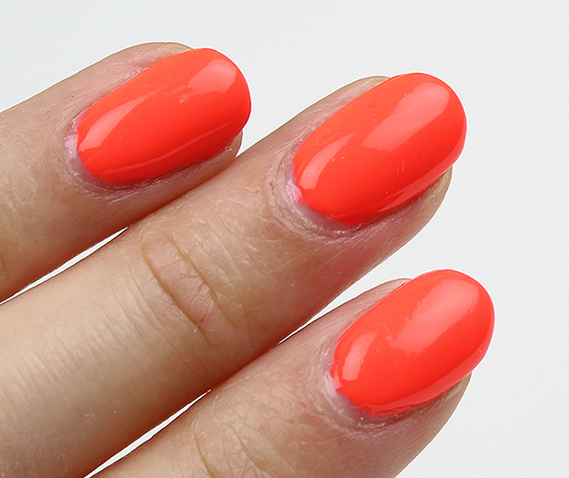 China Glaze Red-y to Rave Swatches