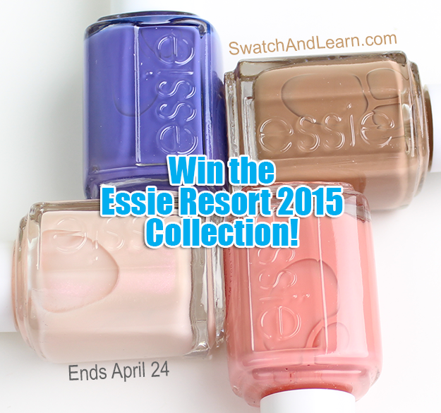 Essie Resort 2015 Collection Giveaway