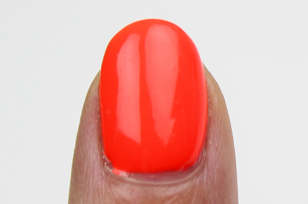 Red-y to Rave Swatch China Glaze