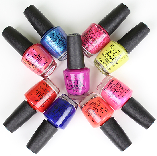 Brights 2015 Collection OPI