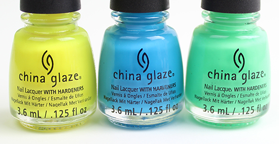 China Glaze Electric Nights 2015 Collection