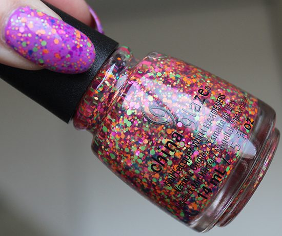 China Glaze Point Me to the Party Electric Nights
