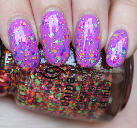 China Glaze Point Me to the Party Swatch & Review