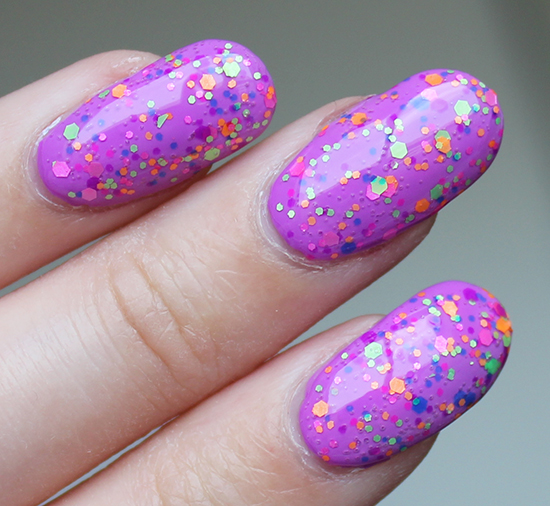 China Glaze Point Me to the Party Swatch