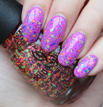China Glaze Point Me to the Party Swatches & Review