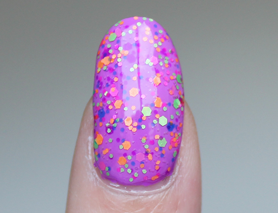 China Glaze Point Me to the Party Swatches