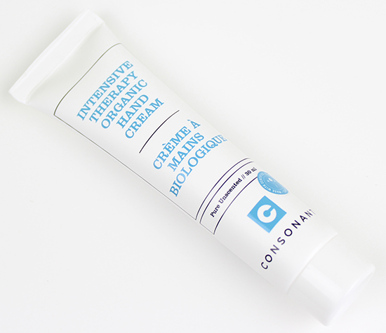 Consonant Intensive Therapy Organic Hand Cream Review