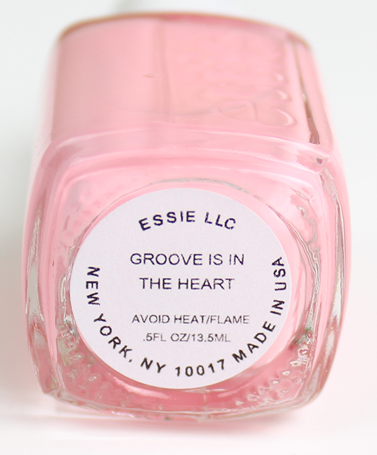 Essie Groove is in the Heart