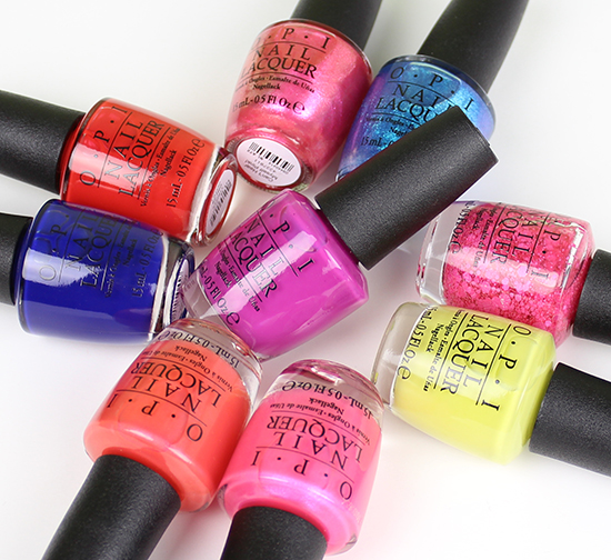 OPI Brights Collection 2015 Photos