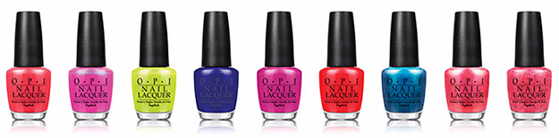 OPI Brights Collection Photos