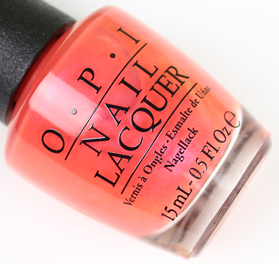 OPI Down to the Core-al Brights 2015 Collection