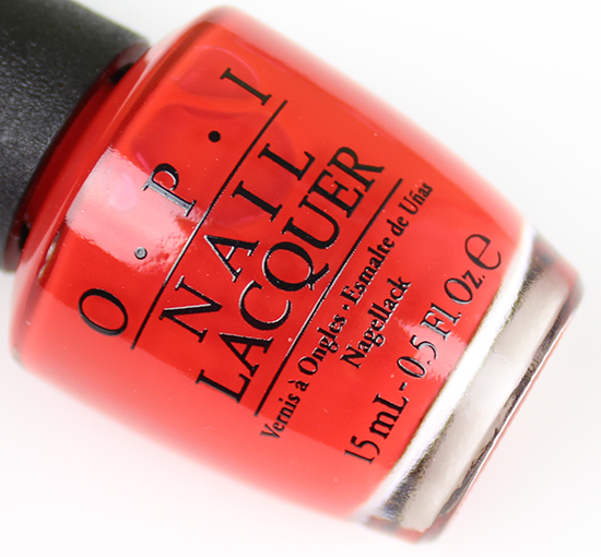 OPI I STOP for Red Brights 2015 Collection