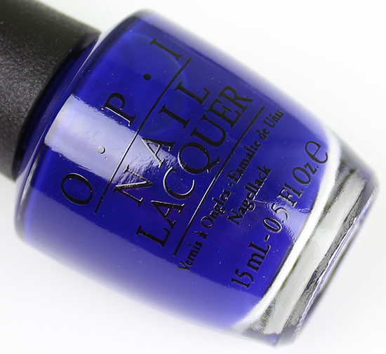 OPI My Car Has Navy-gation Brights 2015 Collection