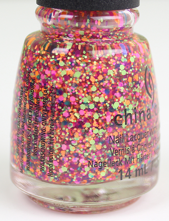 Point Me to the Party China Glaze Electric Nights Collection