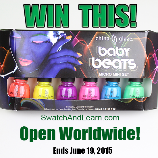 China Glaze Baby Beats Giveaway