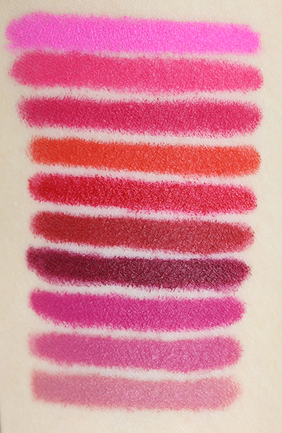 Maybelline Color Blur Matte Pencil Swatches Swatch