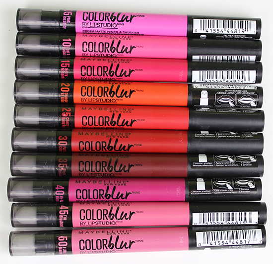 Maybelline Color Blur Matte Pencil