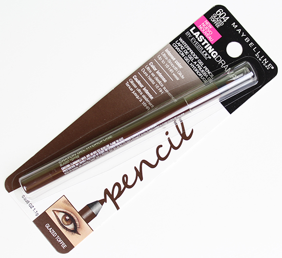 Maybelline Lasting Drama Waterproof Gel Pencil Glazed Toffee