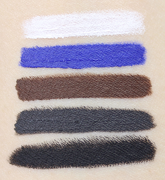 Maybelline Lasting Drama Waterproof Gel Pencil Swatches