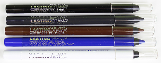 Maybelline Lasting Drama Waterproof Gel Pencils Pictures