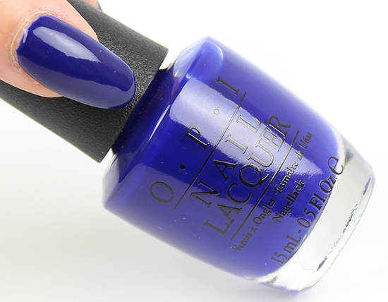 OPI My Car Has Navy-gation Brights 2015