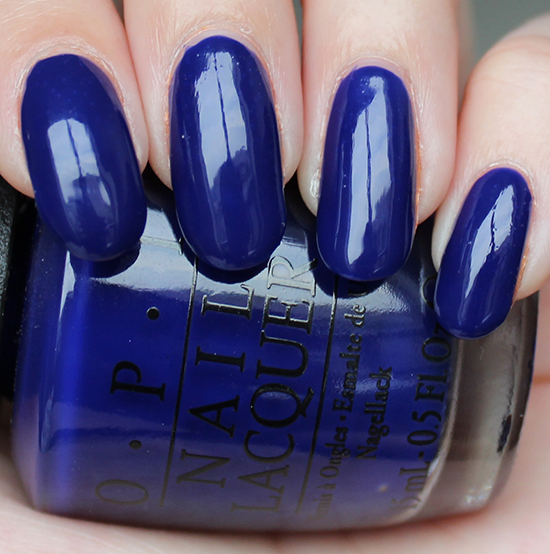 OPI My Car Has Navy-gation OPI Brights Collection 2015 Swatches
