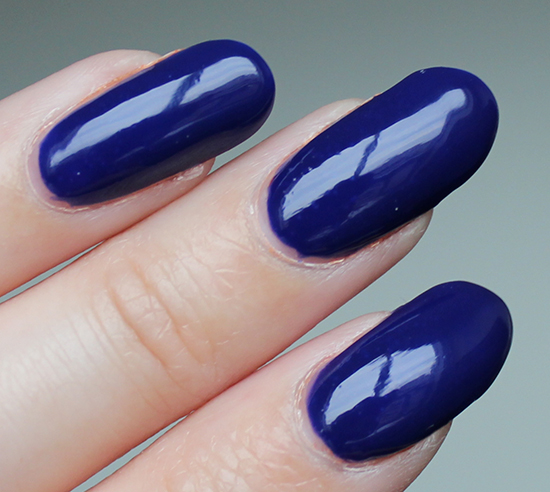 OPI My Car Has Navy-gation Review & Swatch