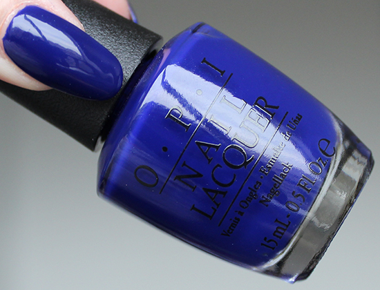 OPI My Car Has Navy-gation Review & Swatches