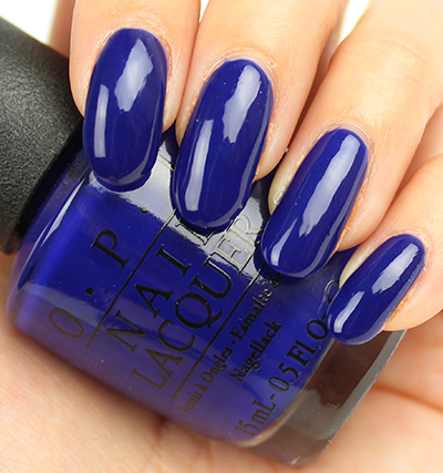 OPI My Car Has Navy-gation Swatches & Review