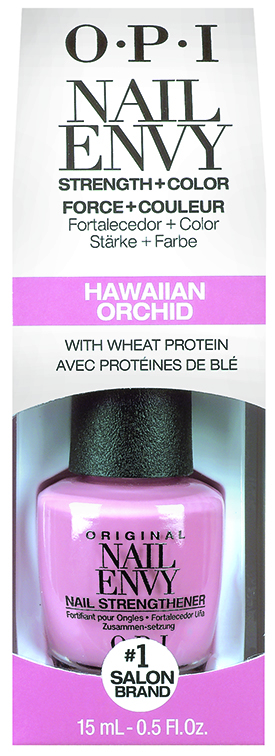 OPI Nail Envy Strength in Color Collection Hawaiian Orchid