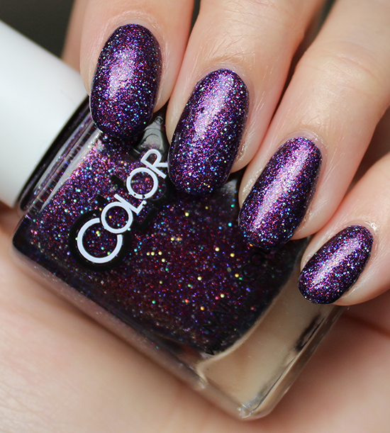 Color Club Gift of Sparkle Swatch Review Photos