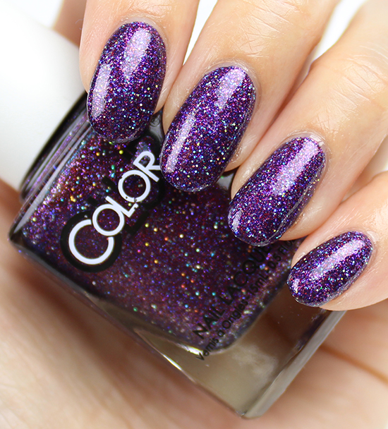Color Club Gift of Sparkle Swatches & Review