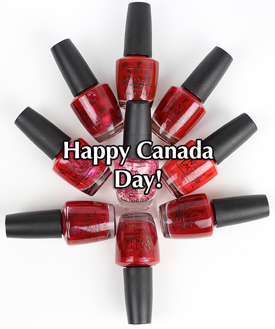 OPI Canada Day 2015