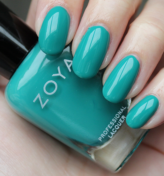 Zoya Cecilia Review & Swatches