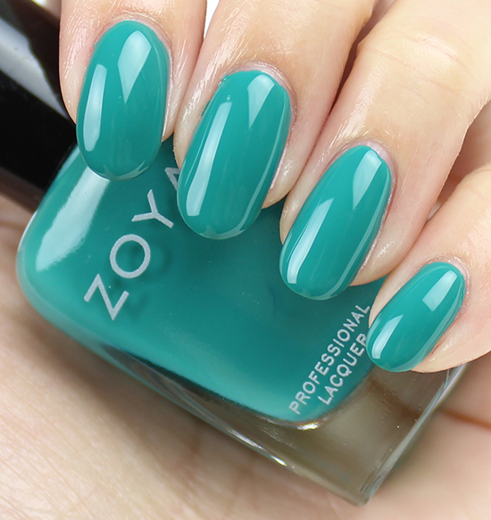 Zoya Cecilia Swatches & Review