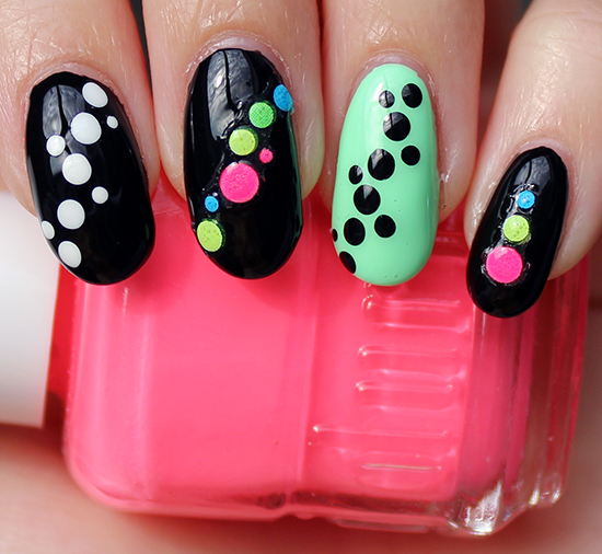 Colourful Nail Art