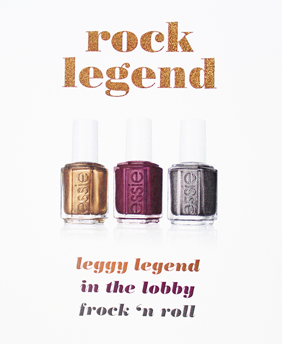 Essie Fall 2015 Collection Rock Legend Nail Art