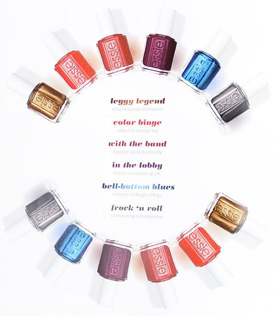 Essie Fall 2015 Collection Shades