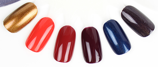 Essie Fall 2015 Collection Swatches