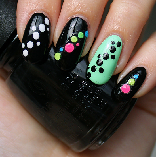 Fun Nail Art Dotticure