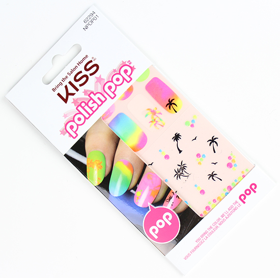 Kiss Polish Pop Nail Stickers Nail Art
