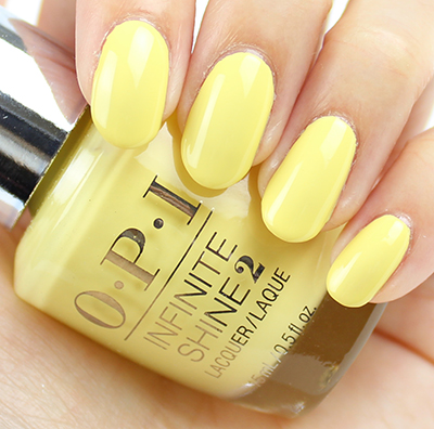 OPI Infinite Shine Bee Mine Forever Swatches & Review