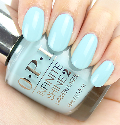 OPI Infinite Shine Eternally Turquoise Swatches & Review