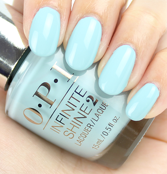 Opi Infinite Shine Eternally Turquoise Swatches Review