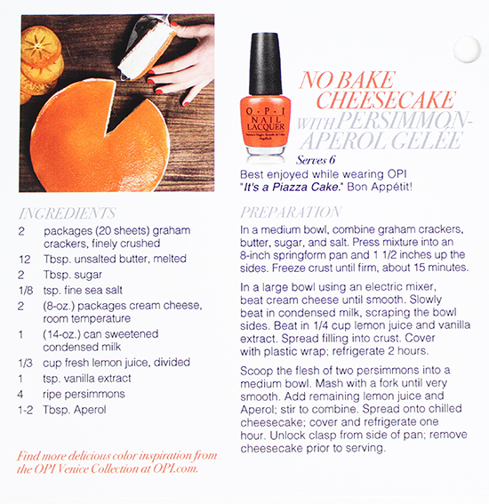 OPI Venice Collection 5a